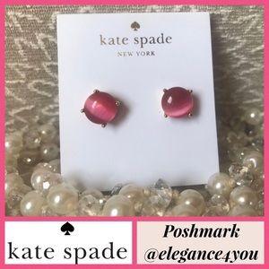 ✨KATE SPADE✨Pink Gumdrop Earrings NEW!
